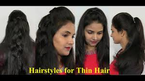 natural hairstyles for thin hair easy and simple thin hair