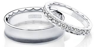 his and wedding bands wedding his and hers wedding band sets lovely matching silver