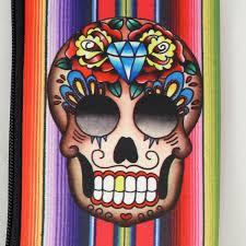 Sugar Skulls For Sale Mexican Sugar Skull Wallet U2013 Cats Like Us