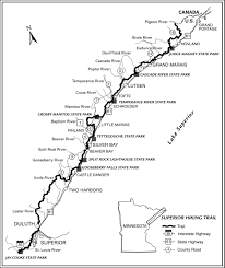 Lake Superior Map Know Before You Go Superior Hiking Trail Association