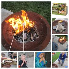 duraflame fire pit duraflame campfire roasting logs that bald
