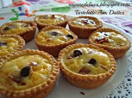 cuisine tv recettes vues à la tv rayan delices tartelettes aux dattes