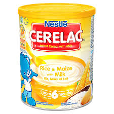 nestle cerelac rice maize with milk 14 ounce cans pack of 4