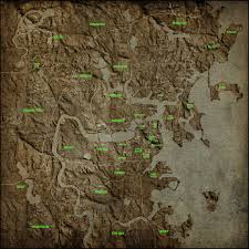 Fallout 1 Map by Commonwealth Physical Map Mod Download