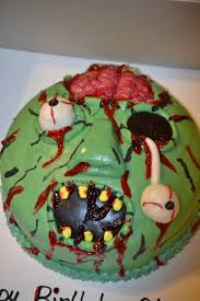 Halloween Birthday Cakes Pictures by Top 25 Best Zombie Cakes Ideas On Pinterest Zombie Birthday