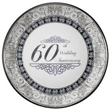 60th wedding anniversary plate 21 best 60th wedding anniversary gifts ideas images on