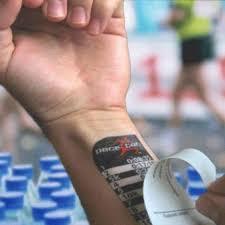 marathon pace tattoos proud runner