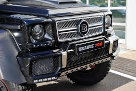 mercedes benz 6x6 brabus makes the mercedes g 63 amg 6x6 even crazier by boosting it