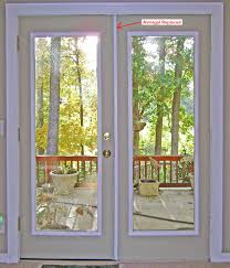 Exterior Single French Door by Patio French Door Astragal Replacement Part 1 Home Pinterest
