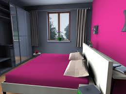 bedroom attractive amazing bedroom design with pink gray paint