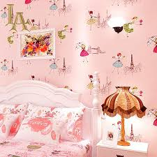 Kids Wallpapers For Girls by Aliexpress Com Buy Modern Cozy Cartoon Ballet Girls Bedroom