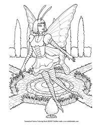 goth fairy coloring tablynn deviantart