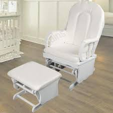 white wooden rocking chair for nursery inspirations home