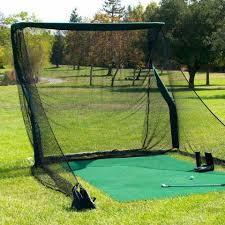 Golf Net For Backyard by The Net Return Pro Series Golf Net U0026 Mat Package