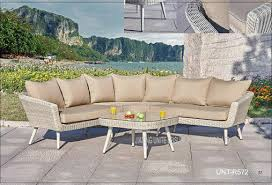 Patio Furniture Round Outdoor Furniture Round Couch Wicker Backyard Patio Furniture Sofa