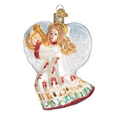 3 5 world take note glass ornament 10214