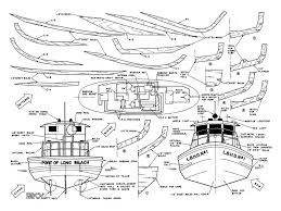 Radio Controlled Model Boat Plans Fireboat Scale 1 24 29 1 2