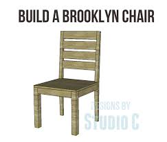 free plans to build a brooklyn chair simple diy projects