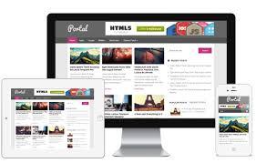 portal a free magazine blog responsive wordpress theme with 3