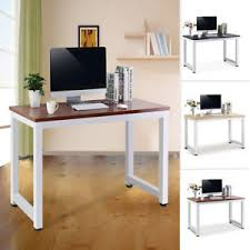Desks For Home Office Uk Wooden Computer Desk Home Office Writing Study Table Workstation