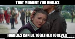 The Force Is Strong With This One Meme - 35 mormon star wars memes to make your day mylifebygogogoff
