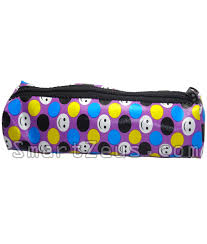 pencil pouch smiley pencil pouch set of 2 black violet smartzeus