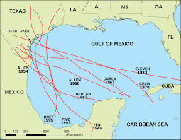 Gulf Of Mexico Depth Map by Record Of Historical Gulf Of Mexico Storms Preserved In The