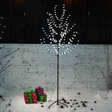 200 warm white christmas tree lights new 200 led 6ft glowing branches christmas tree fairy lights cherry