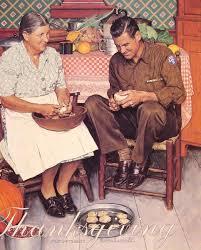 rockwell thanksgiving peeling potatoes 1945 jpg