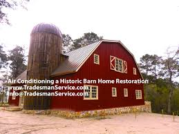 Restored Barns Air Conditioning A Historic Barn Home Restoration Youtube