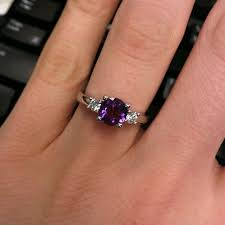amethyst engagement rings best 25 amethyst engagement rings ideas on aquamarine