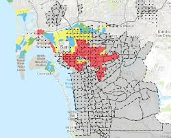 San Diego Map Neighborhoods by Redlining U0027s Enduring Legacy U2013 The Urban Edge