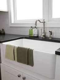 How To Open Kitchen Faucet by Sinks Wooden Open Shelves White Kitchen Wares White Tile In