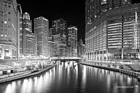 black and white images balyeat photography chicago river riverwalk