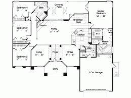4 bedroom house blueprints one floor 4 bedroom house blueprints shoise
