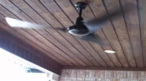 black industrial ceiling fan hton bay 60 in black industrial ceiling fan youtube