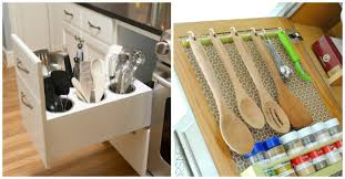 how to organise kitchen utensils drawer 15 easy and pretty ways to organize utensils