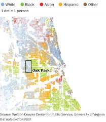 Chicago Area Code Map by How Race Still Influences Where We Choose To Live The Washington
