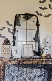 Vintage Creepy Halloween Photos Vintage Inspired Spooky Halloween Foyer Decor Inspiration
