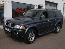 used mitsubishi pajero sport 2 5 td your second hand cars ads