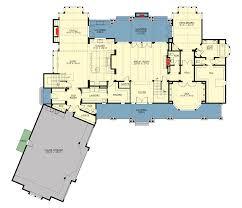grand craftsman manor 23643jd architectural designs house plans grand craftsman manor 23643jd floor plan main level