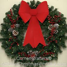 lighted christmas wreath 30 inch l e d deluxe christmas wreath