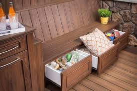 Outdoor Storage Bench Ideas by 20 Smart Outdoor Storage Furniture Ideas Shelterness