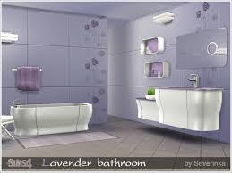 Lavender Bathroom Set The Sims 4 Custom Content Lavender Bathroom Set