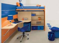 Muebles De Dormitorio Para Niños De Color Blanco Decoración - Modern kids room furniture