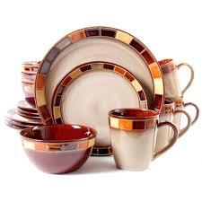 dinnerware sets gibson outlet gibson elite casa estebana 16 piece dinnerware set cream full set