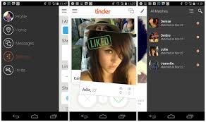 who created android tinder dating app for android updated with new ui and user
