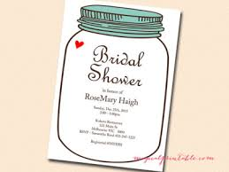 jar invitations bridal shower invitations jar mes specialist