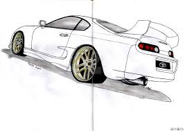 toyota supra drawing toyota supra by ckdmotorsport on deviantart