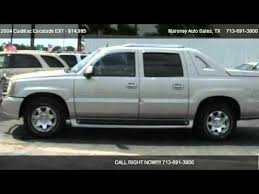 used cadillac escalade truck for sale 2004 cadillac escalade ext awd for sale in houston tx 77090